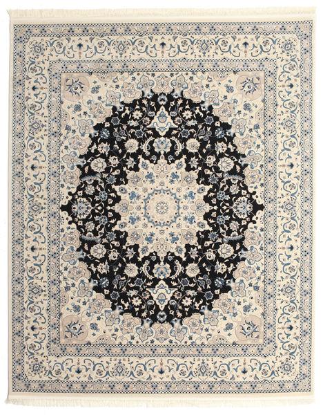 Nain Emilia - Donkerblauw Vloerkleed 250X300 Oosters Lichtgrijs/Beige Groot ( Turkije)