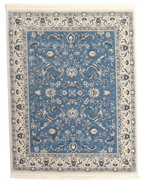 Nain Florentine - Lichtblauw Vloerkleed 250X300 Oosters Lichtgrijs/Blauw Groot ( Turkije)