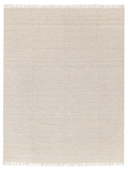 Melange - Zand Vloerkleed 250X300 Echt Modern Handgeweven Beige/Lichtgrijs Groot (Wol, India)