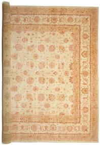 Ziegler Vloerkleed 575X842 Echt Oosters Handgeknoopt Beige/Donkerbeige Groot (Wol, Pakistan)