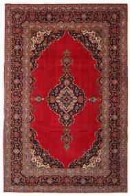 Keshan Patina Vloerkleed 240X374 Echt Oosters Handgeknoopt Donkerrood/Donkerbruin (Wol, Perzië/Iran)