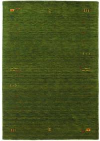 Gabbeh Loom Frame - Groen Vloerkleed 160X230 Modern Donkergroen (Wol, India)