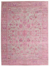 Maharani - Grijs/Roze Vloerkleed 160X230 Modern Lichtroze/Licht Paars ( Turkije)