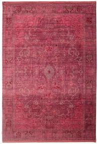 Maharani - Rood Vloerkleed 200X300 Modern Donkerrood/Roestkleur ( Turkije)