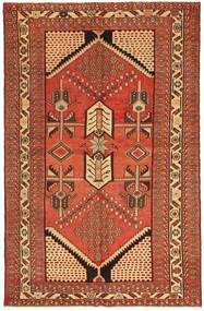 Saveh Patina Vloerkleed 135X208 Echt Oosters Handgeknoopt Rood/Bruin (Wol, Perzië/Iran)