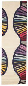 Vases Vloerkleed 80X250 Modern Tapijtloper Beige/Donkerpaars ( Turkije)