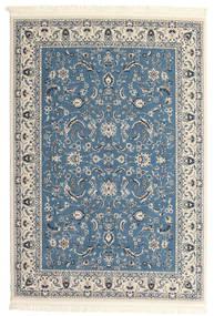 Nain Florentine - Lichtblauw Vloerkleed 120X180 Oosters Lichtgrijs/Beige/Donkerblauw ( Turkije)