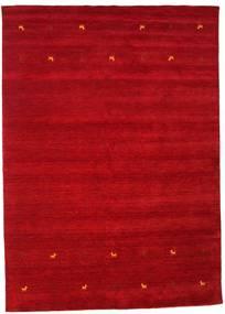 Gabbeh Loom Two Lines - Rood Vloerkleed 240X340 Modern Rood/Donkerrood (Wol, India)