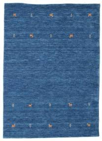 Gabbeh Loom Two Lines - Blauw Vloerkleed 140X200 Modern Donkerblauw/Blauw (Wol, India)
