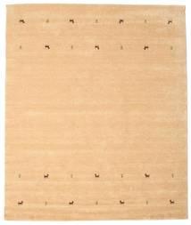 Gabbeh Loom Two Lines - Beige Vloerkleed 240X290 Modern Donkerbeige/Lichtbruin (Wol, India)