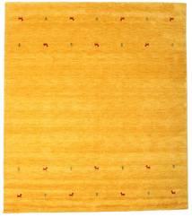 Gabbeh Loom Two Lines - Geel Vloerkleed 240X290 Modern Geel/Oranje (Wol, India)