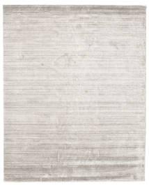 Bamboe Zijde Loom - Warm Grijs Vloerkleed 200X250 Modern Lichtgrijs ( India)