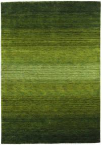 Gabbeh Rainbow - Groen Vloerkleed 160X230 Modern Donkergroen/Olijfgroen (Wol, India)