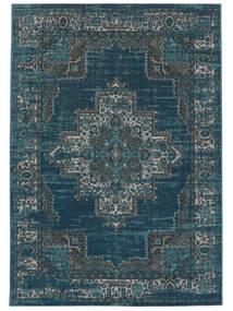 Vintage Vega - Petrol/Turkoois Vloerkleed 200X300 Modern Donkerblauw/Blauw ( Turkije)