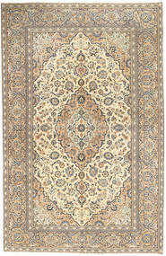 Keshan Patina Vloerkleed 190X296 Echt Oosters Handgeknoopt Lichtgrijs/Donkerbeige (Wol, Perzië/Iran)
