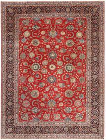 Keshan Patina Vloerkleed 288X380 Echt Oosters Handgeknoopt Donkerrood/Roestkleur Groot (Wol, Perzië/Iran)