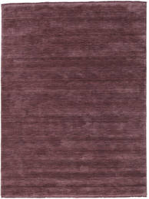 Handloom Fringes - Bordeaux Vloerkleed 160X230 Modern Donkerpaars/Donkerbruin (Wol, India)