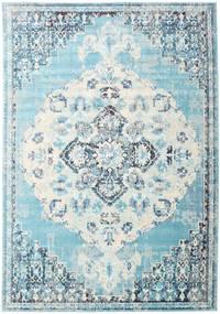 Turid - Blauw Vloerkleed 200X300 Modern Lichtblauw/Wit/Creme ( Turkije)