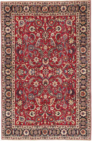 Mashad Patina Vloerkleed 197X300 Echt Oosters Handgeknoopt Donkerrood/Rood (Wol, Perzië/Iran)