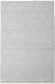 Svea - Zilvergrijs Vloerkleed 200X300 Echt Modern Handgeweven Lichtgrijs/Wit/Creme (Wol, India)