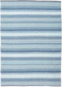 Wilma - Blauw Vloerkleed 170X240 Echt Modern Handgeweven Lichtblauw (Katoen, India)