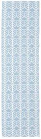 Buitenvloerkleed Arch - Blauw Vloerkleed 70X200 Modern Tapijtloper Lichtblauw/Beige ( Zweden)