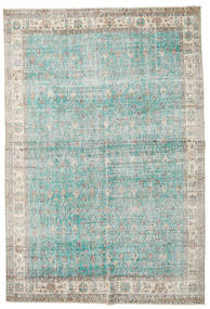 Taspinar Vloerkleed 207X300 Echt Oosters Handgeknoopt Lichtgrijs/Turquoise Blauw (Wol, Turkije)