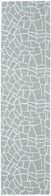 Buitenvloerkleed Terrazzo - Groen/Mint Vloerkleed 70X210 Modern Tapijtloper Lichtblauw/Lichtgrijs ( Zweden)