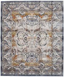 Minna - Goud Vloerkleed 244X304 Modern Lichtgrijs/Donkergrijs ( Turkije)