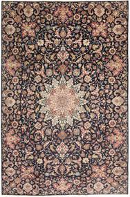 Najafabad Patina Vloerkleed 235X360 Echt Oosters Handgeknoopt Donkergrijs/Donkerrood (Wol, Perzië/Iran)