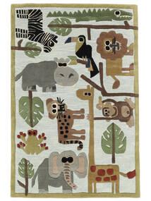 Zoo Handtufted Vloerkleed 170X240 Modern Lichtgrijs/Lichtblauw (Wol, India)