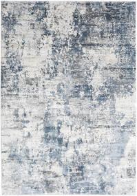 Triad - Grijs/Blauw Vloerkleed 200X290 Modern Wit/Creme/Lichtblauw ( Turkije)