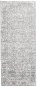 Maharani - Grijs Vloerkleed 80X200 Modern Tapijtloper Lichtgrijs/Wit/Creme ( Turkije)