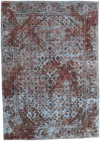 Vintage Heritage Vloerkleed 191X270 Echt Modern Handgeknoopt Donkerbruin/Lichtgrijs (Wol, Perzië/Iran)