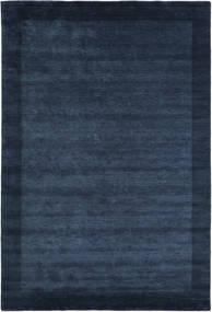 Handloom Frame - Donkerblauw Vloerkleed 200X300 Modern Donkerblauw/Blauw (Wol, India)