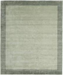 Handloom Frame - Grijs/Groen Vloerkleed 250X300 Modern Lichtgroen/Pastel Groen Groot (Wol, India)