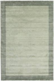 Handloom Frame - Grijs/Groen Vloerkleed 200X300 Modern Lichtgroen/Pastel Groen (Wol, India)