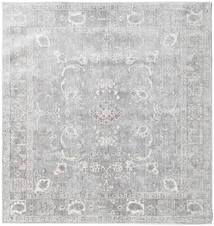 Maharani - Grijs Vloerkleed 150X150 Modern Vierkant Lichtgrijs ( Turkije)