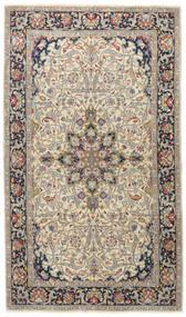 Kerman Patina Vloerkleed 116X200 Echt Oosters Handgeknoopt Lichtgrijs/Donkergrijs (Wol, Perzië/Iran)
