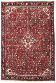 Hamadan Patina Vloerkleed 135X202 Echt Oosters Handgeknoopt Donkerbruin/Rood (Wol, Perzië/Iran)