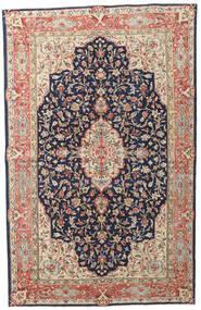 Kerman Patina Vloerkleed 149X236 Echt Oosters Handgeknoopt Donkerpaars/Donkerrood (Wol, Perzië/Iran)