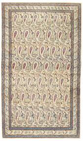 Kerman Patina Vloerkleed 85X147 Echt Oosters Handgeknoopt Beige/Lichtgrijs (Wol, Perzië/Iran)