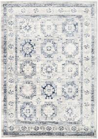 Menara Everyday - Grijs/Blauw Vloerkleed 160X230 Modern Lichtgrijs/Wit/Creme ( Turkije)
