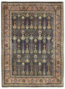 Tabriz 50 Raj Vloerkleed 150X198 Echt Oosters Handgeknoopt (Wol, Perzië/Iran)