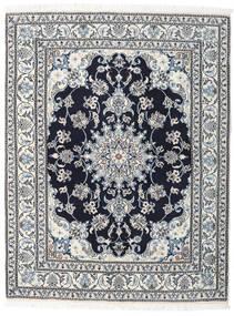 Nain Vloerkleed 150X196 Echt Oosters Handgeknoopt Beige/Lichtblauw (Wol, Perzië/Iran)