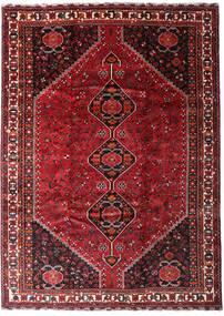 Ghashghai Vloerkleed 225X313 Echt Oosters Handgeknoopt Donkerrood/Rood (Wol, Perzië/Iran)
