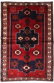 Lori Vloerkleed 155X231 Echt Oosters Handgeknoopt Donkerrood (Wol, Perzië/Iran)