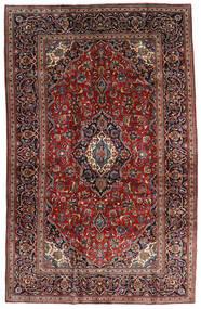 Keshan Vloerkleed 205X320 Echt Oosters Handgeknoopt Donkerrood/Donkerbruin (Wol, Perzië/Iran)