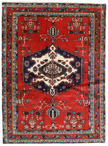 Afshar Vloerkleed 122X165 Echt Oosters Handgeknoopt (Wol, Perzië/Iran)