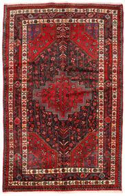 Toiserkan Vloerkleed 154X244 Echt Oosters Handgeknoopt Donkerrood/Donkerbruin (Wol, Perzië/Iran)